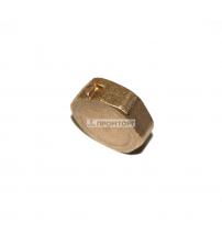Заглушка  латунная   2 (50 мм) внутренняя резьба