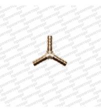 Тройник Y-образный латунный 10 мм
