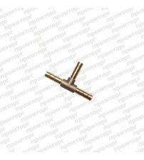 Тройник-ёлочка латунный  4 мм