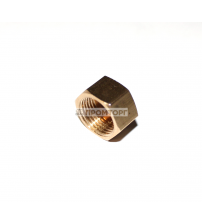 Заглушка латунная 1/4 дюйма внутренняя
