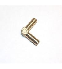 Угол латунный соединительный 6 мм