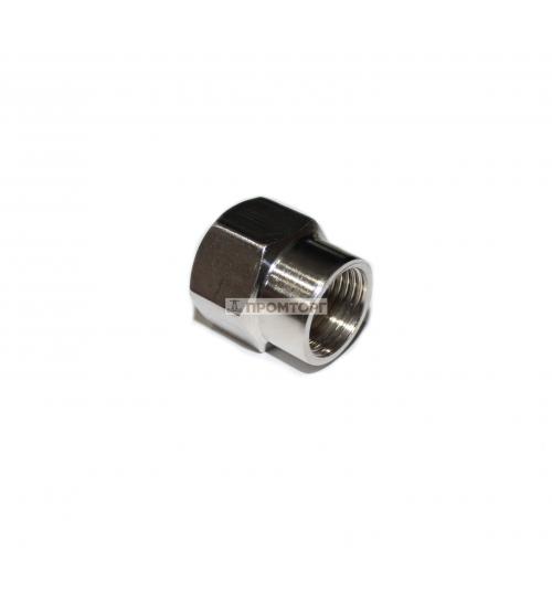Муфта из нержавеющей стали  1/2в-3/4в  (SS201)