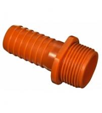 Штуцер пластиковый 1 (25 мм) наружный на 20 мм