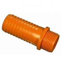 """Штуцер пластиковый 1""""(25) наружный на 25 мм"""