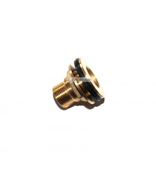 Врезка  в бак ступенчатая   11/4 дюйма  (32 мм)