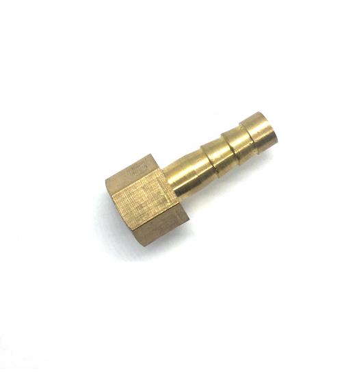 Штуцер латунный 1/8 внутренний на 5 мм