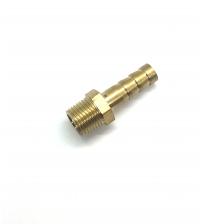 Штуцер латунный 1/8 нар -10 мм