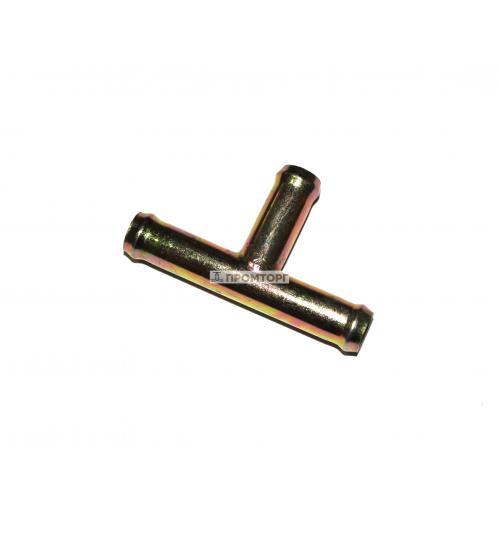 Тройник из оцинкованной стали  10 мм