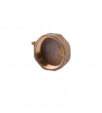 Заглушка  латунная 1 (25 мм) внутренняя