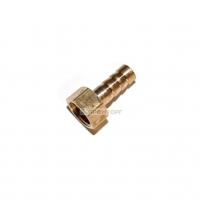 Штуцер латунный 1/4 внутренний  на 8 мм