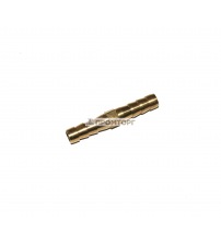 Штуцер-ёлочка латунный прямой   5 мм