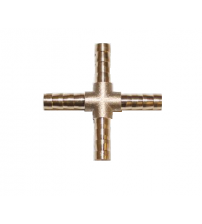 Крест-ёлочка латунный 10 мм