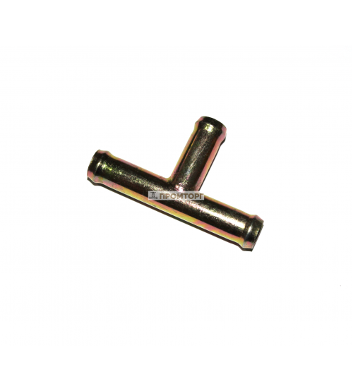 Тройник из оцинкованной стали  8 мм