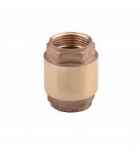 Обратный клапан  1/2 (15 мм) с латунным штоком
